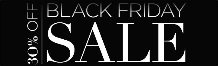 Black Friday Mega Sale! Save 30% now