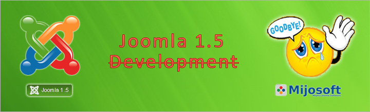 Development and Support for Joomla 1.5