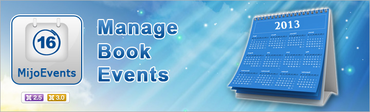 Introducing MijoEvents, Manage & Book