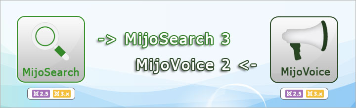 MijoSearch 3 and MijoVoice 2 released