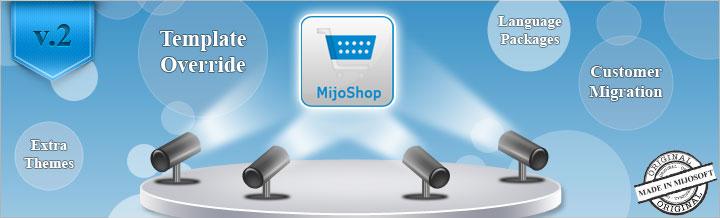 MijoShop v.2 released, made in Mijosoft