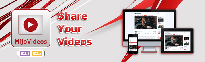 Introducing MijoVideos, Share Your Videos