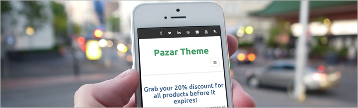 Pazar, responsive template for MijoShop
