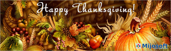 Happy Thanksgiving! Save 25% now